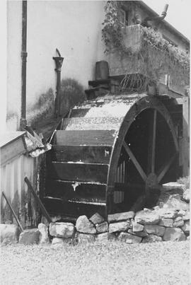 Finch's Forge, Sticklepath, wheel