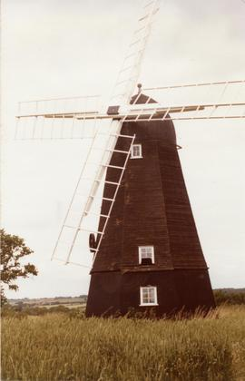 Smock mill, Great Thurlow, Suffolk