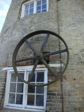 External engine drive pulley, Great Mill, Haddenham