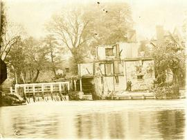 Iffley Mill after the fire