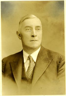 Photographic portrait of Mr S Armstong