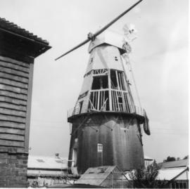 Union Mill, Cranbrook, Kent, during retoration