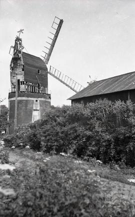 """Windmill at Little Laver, Essex"""