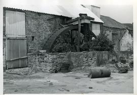 Whitecombe Farm Mill, Corton Denham, wheel