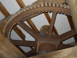 Great spur wheel, Beacon Mill, Benenden