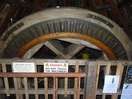 Brakewheel, tower mill, Great Bircham
