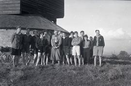 Group photograph, Brill Windmill