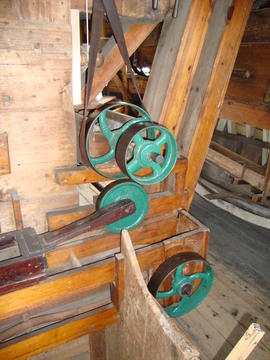 Unidentified mechanism, Upminster Windmill, Upminster