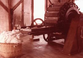 """Interior of Hapgood Carding Mill OLD STURBRIDGE VILLAGE, MASS."""