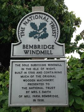 Sign, Knowle Mill, Bembridge