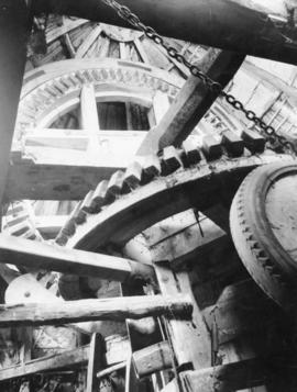 Haddenham Tower Mill, Cambridgeshire, interior