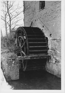 Woodbridge Mill, West Lavington, wheel