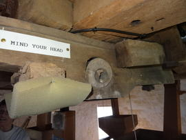 Stone crane mounting, tower mill, Stock