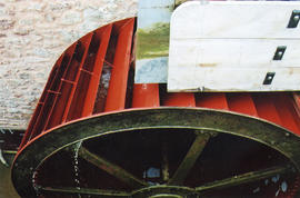 Bishop's Lydeard, waterwheel by Bishop Bros, Wellington
