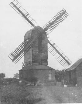 Aynthorpe Roding Post Mill, Aynthorpe Roding , before restoration