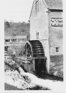 Donnington Mill, Donnington, wheel