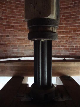 Upright shaft, Polkey's Mill, Reedham