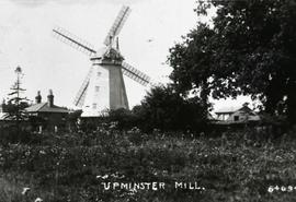 """Upminster Windmill, Essex - copy negative"""