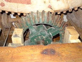 Great spur wheel and engine drive, Downfield Mill, Soham