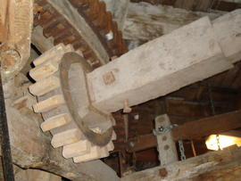 Auxiliary drive nut and layshaft, Great Mill, Haddenham