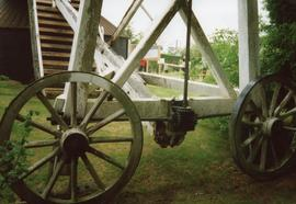 Fantail gearing and carriage wheels, Argos Hill Mill, Mayfield
