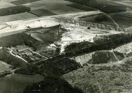 Aerial view of Humberfield Quarry, Hessle