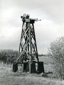 Boardman's Windpump, How Hill, Norfolk, before restoration
