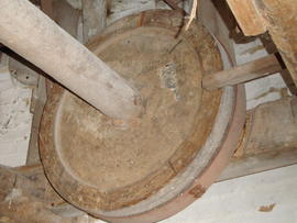 Auxiliary drive pulley, Great Mill, Haddenham