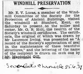 """Windmill Preservation"""