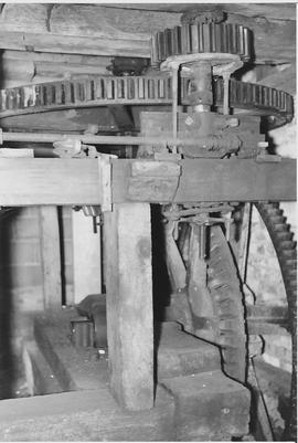 Eversley Mill, Eversley, internal, pit wheel, wallower, spur wheel
