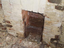 Fireplace, Polkey's Mill, Reedham