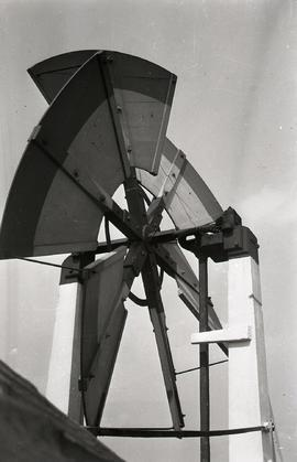 """Windmill at Upminster, Essex"" fan"