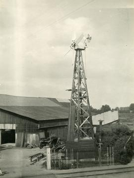 E Lancaster Burne prototype windmill, English Brothers' Yard, Wisbech