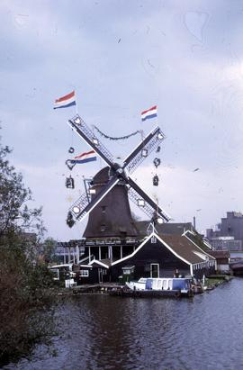 """Zaan, mill dressed for festival"""