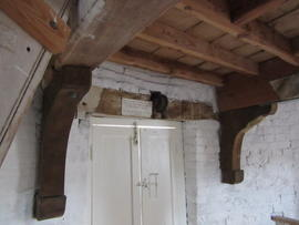 Ceiling beam support brackets, Combined Mill, Little Cressingham