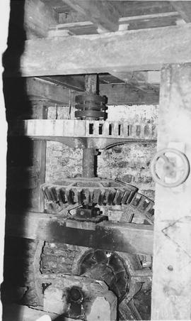 Ashbury Mill, Ashbury, internal, pit wheel and wallower