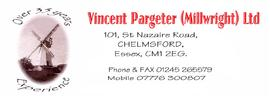 Vincent Pargeter (Millwright) Ltd, logo