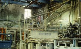 """Papermaking - Oakenholt Mill - Wire & slice"""