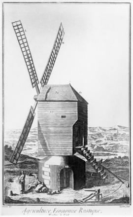 Mill engraving from a French book