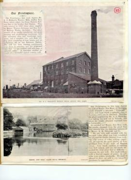 Wendon Mills, Audley End and New Bro's Flour Mills, Newbury