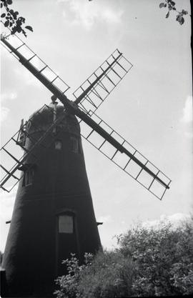"""Ewhurst, Hurtwood Common tower mill Surrey"""