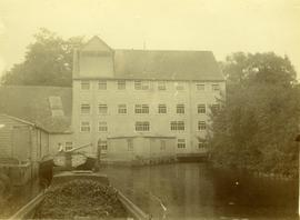 Sonning Mill - Back of in 1898