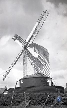 """Windmill at Bexhill, Sussex"""