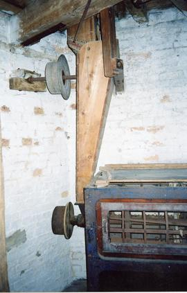 Silk screen dresser and drive, Impington Mill, Histon and Impington