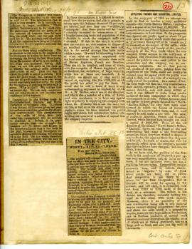 Financial News and Echo Articles 1890