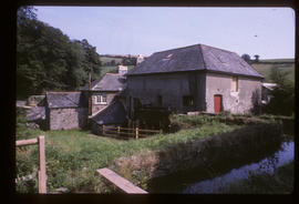 Crowdy Mill, Harbertonford, Devon, view from the leat