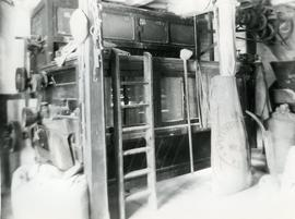 Unidentified watermill - interior with sacks