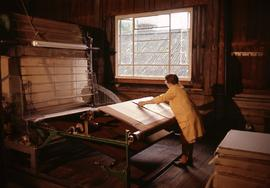 """Paper. Hayle Mill. Drying Machine"""