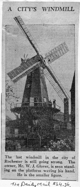 """A City's Windmill in the City of Rochester is still going strong"""