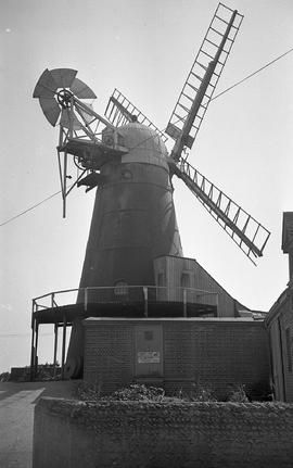 """Windmill at Barham, Sussex"""